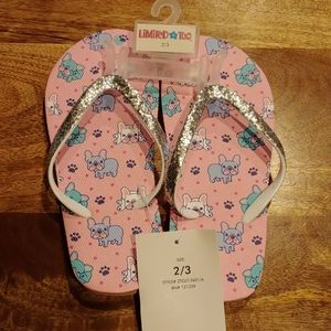 NWT 2 for $15 Limited Puppies w/ Sparkly Strap
